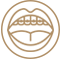ikona krug bravice