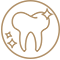 ikona krug estetska stomatologija