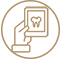 ikona krug radiologija